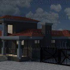 6 Bedroom House Plans – My Building Plans South Africa Round House Plans, My House Plans, Family House Plans, My Building, Building Plans, 6 Bedroom House Plans, Home Design Floor Plans, Floor Layout, Open Plan Living