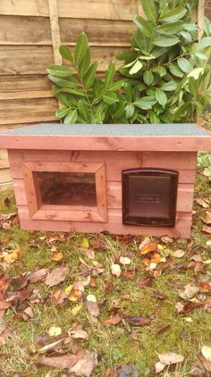 Outdoor cat shelter                                                                                                                                                                                 More