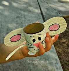 Have students create this super cute mouse from a toilet paper roll while reading The Tale of Despereaux .