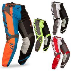 FLY Racing Kinetic Division Motocross MX Dirt Bike Off-Road ATV Quad Pants