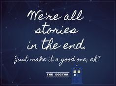 Take some inspiration from The Doctor for your yearbook quote! Yearbook Quotes, Inspiration, Biblical Inspiration, Inspirational, Inhalation