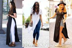 As fendas laterais é o que difere uma maxi tee de um vestido comum (Foto: Reprodução Instagram)
