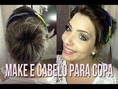 MAQUIAGEM E CABELO PARA A COPA!! por Camila Castro Para mais informações: www.camilacastro.com.br