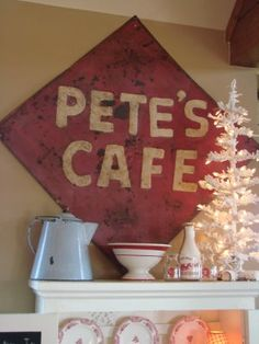 Pete's was right above the Missouri River on our way to St. Louis