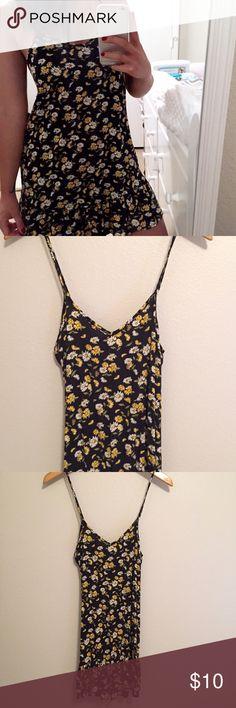 Sz S Comfy Floral Dress Adjustable straps. Lightweight,cotton material. Very similiar to brandy dresses. Forever 21 Dresses Mini
