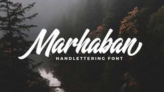Marhaban Free Handlettering Font