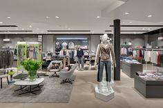 PKZ Women, Zurich (Swiss) #fashion #retail #lighting #led #PKZ #beleuchtung #licht