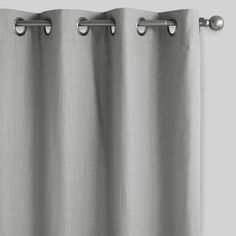 Gun Metal Ball Curtain Rod