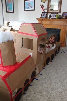 Polar Express Party - lots of cute craft ideas in here Polar Express Christmas Party, Christmas Float Ideas, Polar Express Party, Ward Christmas Party, Polar Express Train, Christmas Program, Christmas Fun, Christmas Activities, Activities For Kids