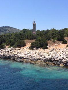 Fiskardo Lighthouse Kefalonia Greece