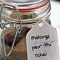 J21 : Cadeau gourmand fait maison - mélange pour thé tchaï - Chez Requia, cuisine et confidences ...