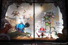Finding Wonder Christmas Isetan Shinjuku, Tokio 伊勢丹 新宿店本館 2013年11月 ショーウインドー6