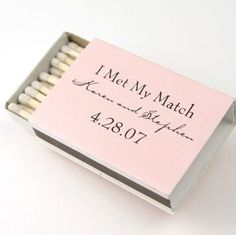 This could be a cheap favor... I could write on them myself and put it with a candle.. and mason just said we could get a rubber stamp for inexpensive #WeddingFavorsCheap
