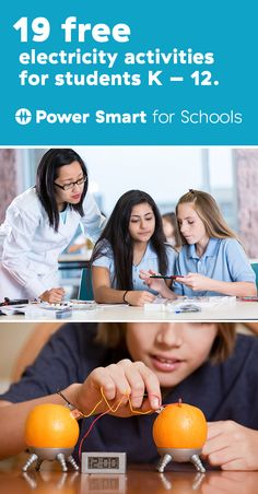 19 free electricity activities ready to use, for students K – 12. Power Smart for Schools is an online hub of energy focused activities and lessons for teachers looking at new ways to inspire their students. schools.bchydro.com/