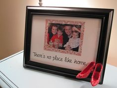 """No Place Like Home"" Frame Tutorial from Infarrantly Creative"