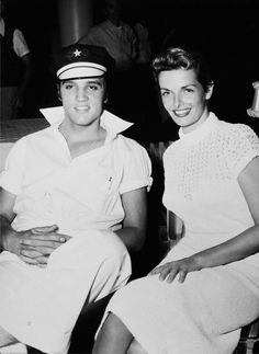 Elvis and Jane Russell | October, 1956.