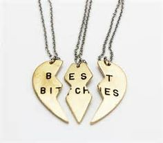 Best Bitches 3-Pc Necklace