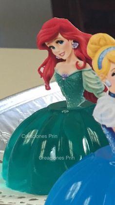 Gelatina de princesas individual