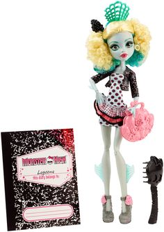 MONSTER HIGH® Monster Exchange™ Lagoona Blue® Doll - Shop Monster High Doll Accessories, Playsets & Toys | Monster High