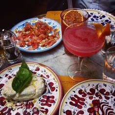 Ober. Paris. Italian food.