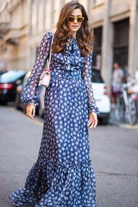 Así visten invitadas y modelos fuera de la pasarela, en la Semana de la Moda madrileña.