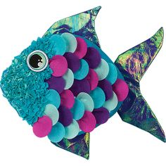 PlushCraft Fancy Fish Pillow (LT10319) « Products | Learning Train