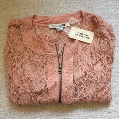 Sheer Lace Crop Jacket