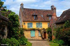 Maison Picarde, Gerberoy, Oise