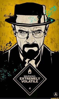 """Breaking Bad All Hail the King tv show poster 24 x 36/"""" Walter surrounded by cash"""