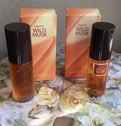 New Coty Wild Musk Cologne Spray for Women 1 5 oz 44 ml Lot x 2 | eBay