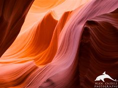 'The Wave' at Antelope Canyon in northern Arizona.