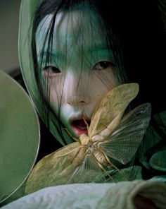 Asia Chow, Liu Wen, Xiao Wen Ju by Tim Walker for W Magazine March 2012 1