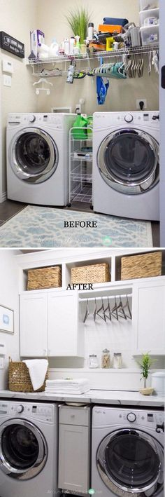 10 laundry room ideas thatll make doing laundry so much easier basement laundry room unfinished basement laundry room ideas basement laundry room before and after laundry basementroom solutioingenieria Gallery