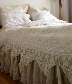 Lace bed spread