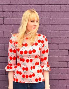 i_seam_sew_happy_xx's Freya top - Ruffle sleeve hack - Sewing pattern by Tilly and the Buttons