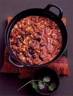 ▷ Chili con Carne Rezept: feuriges Original - Famous Last Words Mexican Food Recipes, Soup Recipes, Cooking Recipes, Con Carne Recipe, English Food, Love Eat, Soul Food, Food Inspiration, Chile