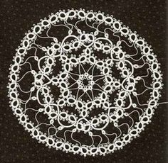 Tatted Doily 2009 row 3