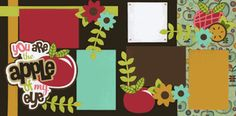 You Are The Apple Of My Eye Page Kit http://www.outonalimbscrapbooking.com/youareapofmy2.html