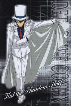 Detective Conan - my favorite: Kaito Kid