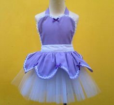SOPHIA Tutu apron for girls new dress up by loverdoversclothing