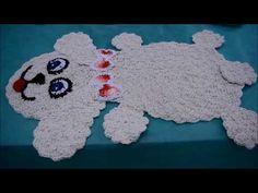 Tapetinho de cachorro em crochê - ArtêDaLê (parte 1) - YouTube