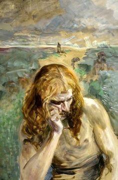 Jacek Malczewski - Saint John the Baptist (1911)  https://en.wikipedia.org/wiki/Jacek_Malczewski
