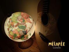 Guitare de voyage / Travel Guitar Univers et Esprit Mélopée