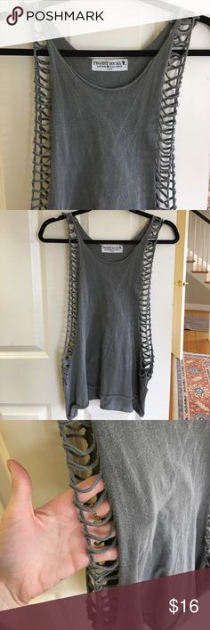 ⚡️Open sides muscle tank ⚡️Open sides muscle tank Urban Outfitters Tops Tank Tops