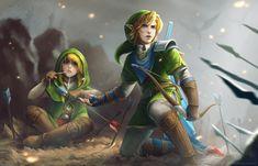 Tags: Fanart, Zelda no Densetsu, deviantART, Link, Fanart From DeviantART, EternaLegend, Zelda Musou, Warrior Link, Linkle
