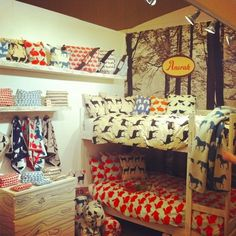 Anorak bunk bed and chests of drawers, woodland themed room from Anorak