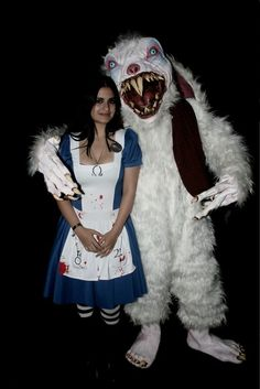 Creepy Cosplay Thursday: Deeper Down the Rabbit Hole