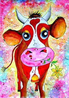 A3-Poster Art-Print, 42cm x 29,7cm  Hallo, schön dass Sie sich für eines meiner Bilder interessieren. Ich male vorwiegend Aquarelle, Illustrationen, Kinderbilder, Blumenbilder und Landschaften....
