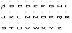 Sci Fi Font   Other Characters: