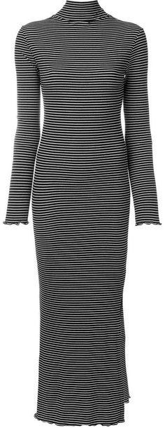 Nanushka striped jersey dress